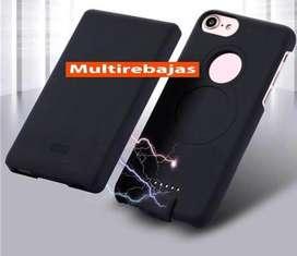 Power Bank Iphone 6 Magnetico Inalambrico Mas Carcasa