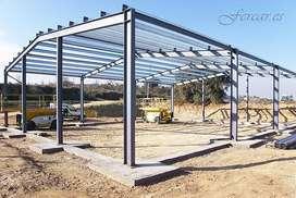 construimos extructuras metalicas. novalozas y calpinteria metalica