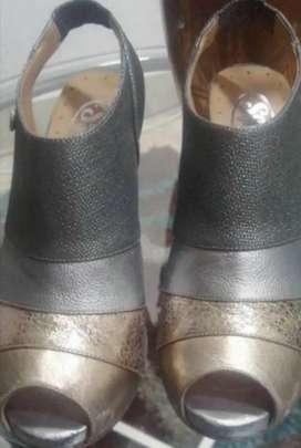 Zapatos dama cuero