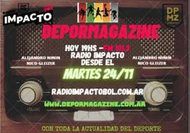 Espacios publicitarios en radio FM