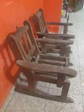2 sillones para nenes