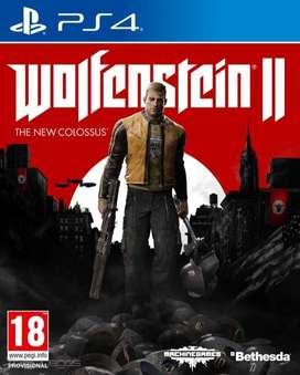 Wolfenstein 2: The New Colossus Playstation 4 Ps4, Físico