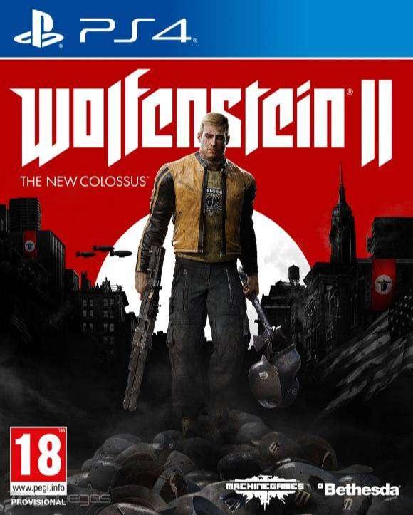 Wolfenstein 2: The New Colossus Playstation 4 Ps4, Físico, Nuevo y sellado