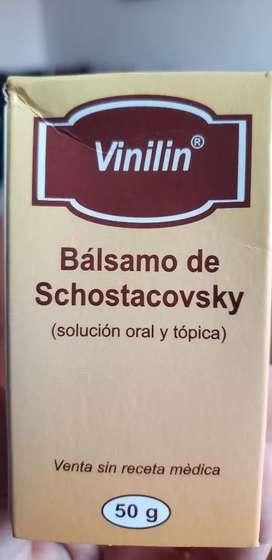 BALSAMO DE SCHOSTACOVSKY (BALSAMO RUSO)
