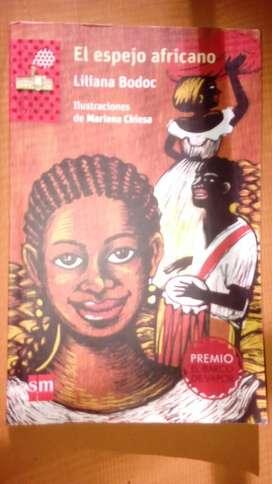 Libro El Espejo Africano Liliana Bodoc