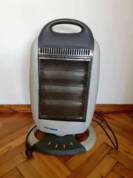 calefactor halogena top house  modelo smb-120c 1200W  made in china