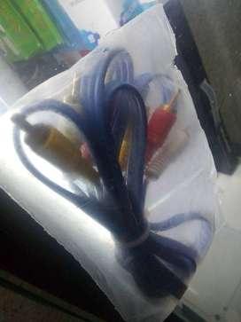 Cable RCA bueno para consolas o dispositivos de video