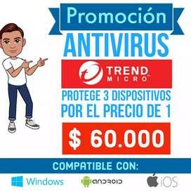 ANTIVIRUS-PROTEGE 3 DISPOSITIVOS POR EL PRECIO DE 1