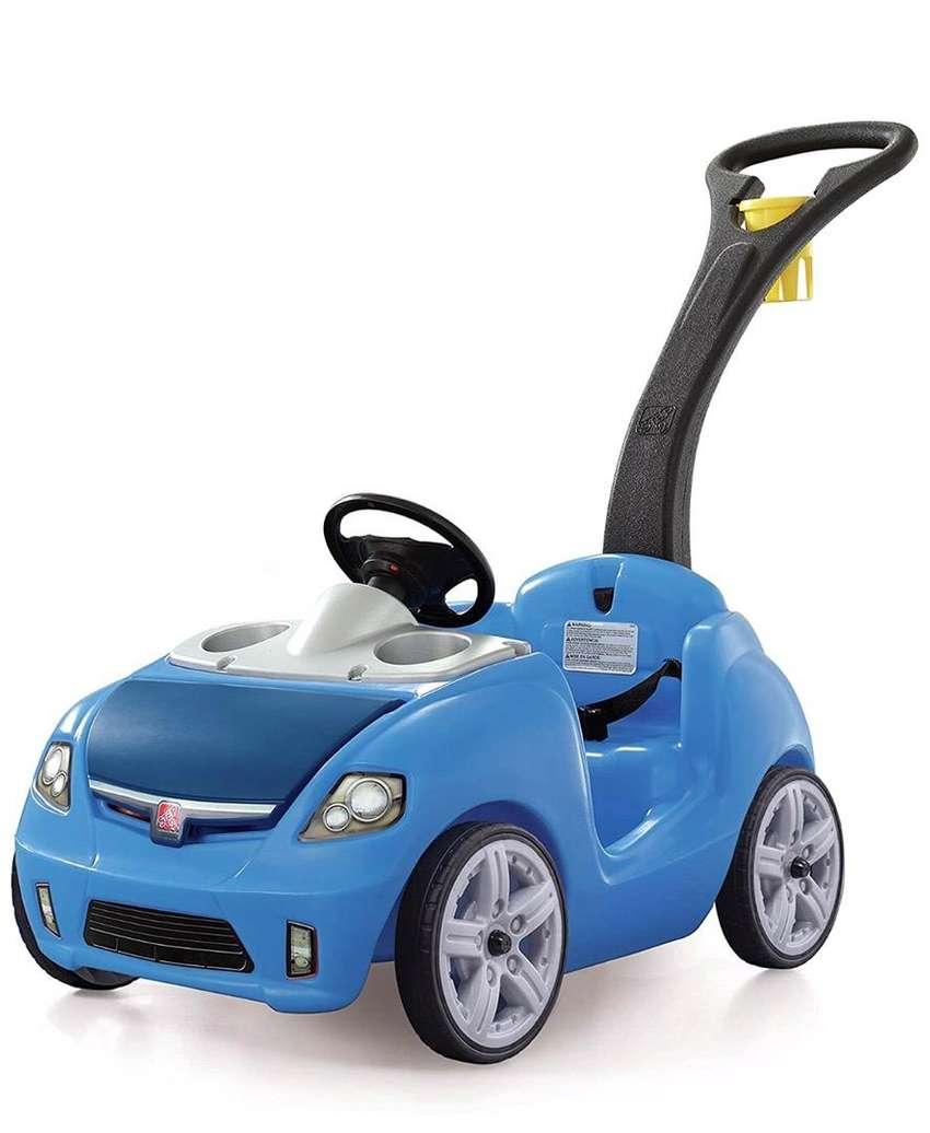 Carro Step2 – Whisper Ride II, Color Azul