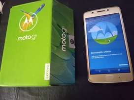 Vendo Motorola g5 32gb libre