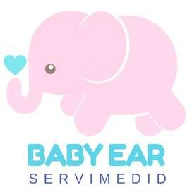 Perforación de orejas para bebes