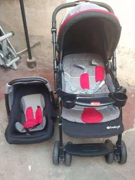 se vende coche EBABY  para niño..