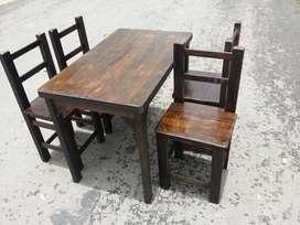 Juegos de sillas y mesas bar restaurante cafetería