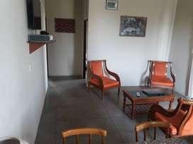 Casa vacacional en alquiler, de dos habitaciones dos baños, cocina,amoblada,tv por cable, todas las comodidades.