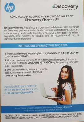 curso ingles interactivo Discovery Channel