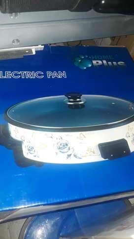 plancha asadora eléctrica con tapa