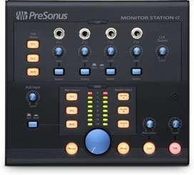 Presonus station v2 controlador de monitores auriculares