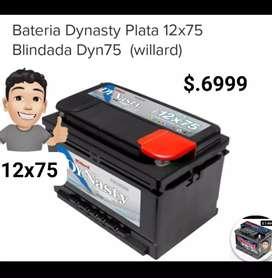 BATERIAS 12X75 DYNASTY 6.999