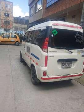 Camioneta minivan placa publica