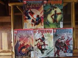 Colección Spiderman Clone Saga Vol. 1,2,3,4,5 de 6