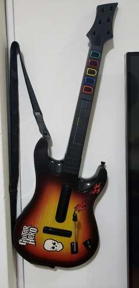 Guitarra original de guitar hero para ps3