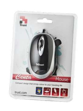 TRUST CENTA MINI MOUSE - BLACK