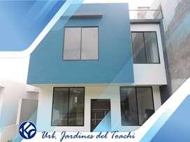 venta-casa-Urbanizacion Jardines del Toachi