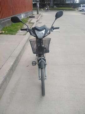 Moto electrica negociable.