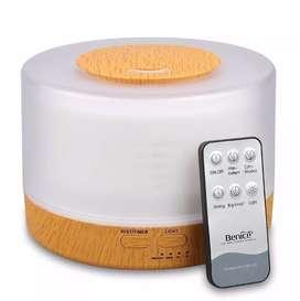 Difusor De Aroma Humidificador Aromaterapia 6 Colores 500 ML