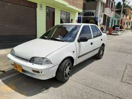 Carro Swift modelo 2002