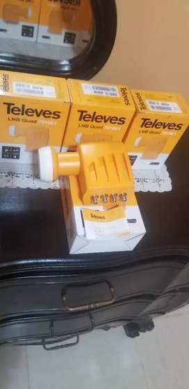 Lnb Tevele 4 salidas HD Español