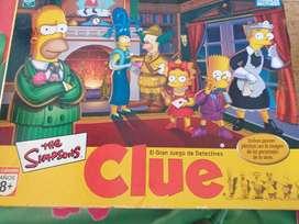El Gran Juego de Detectives Clue Simpson