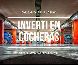 Capitalizá tus ahorros! Invertí en Cocheras 100% Financiadas en Pesos!