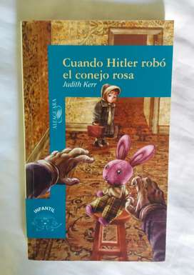 Cuando hitler robo el conejo rosa judith kerr libro original