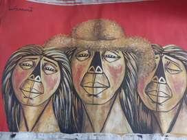 Obras del pintor ivan guayasamint