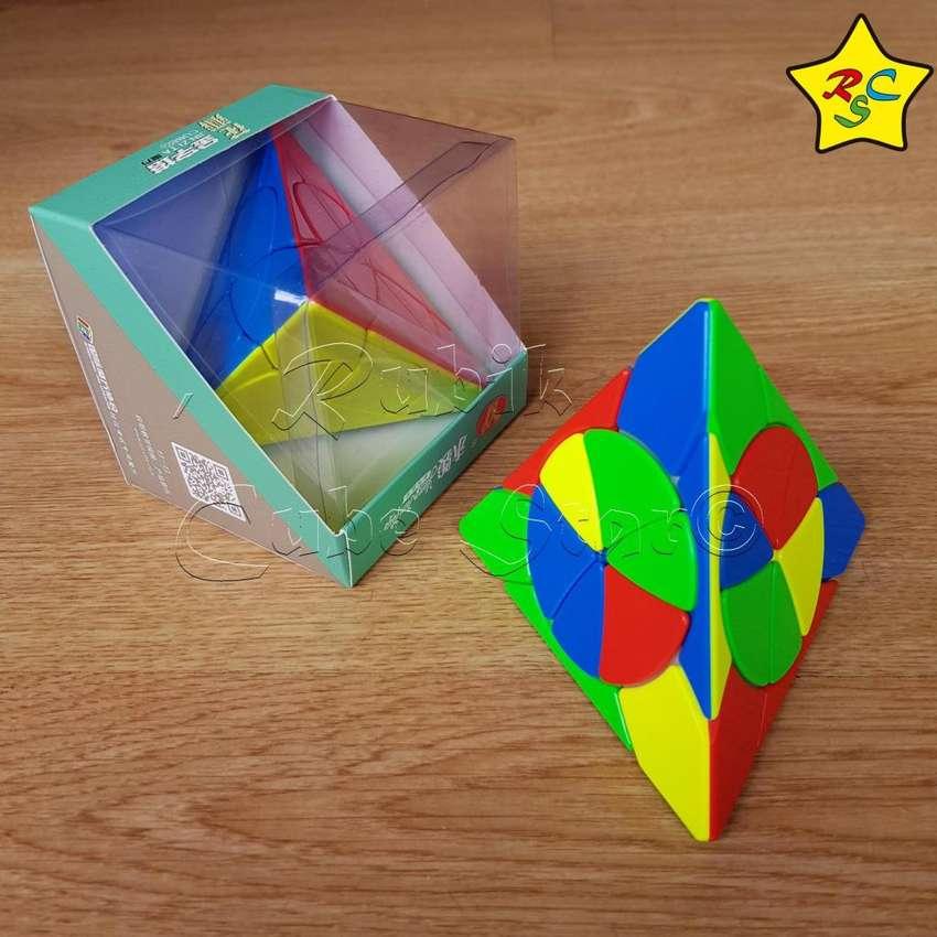 Pyraminx Petalos Petals Piramide 3x3 Crazy Modificacion Yj 0