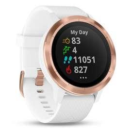 Garmin Vivoactive 3 White Rose Gold | Blanco y dorado Smartwatch GPS