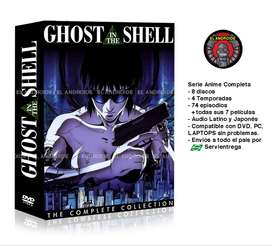 Ghost In The Shell Serie Anime Completa + Películas