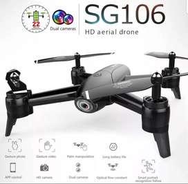 Sg106 Drone camara HD dual wifi fpv 20 min sensores 100m estable 2020