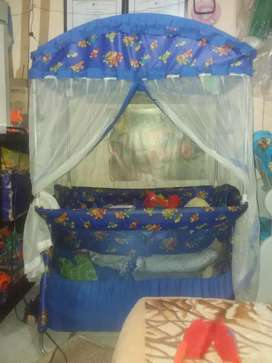 Corral azul bebe