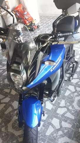 Kawasaki versys 650 inmaculada año 2013 7000 kilómetros de fábrica