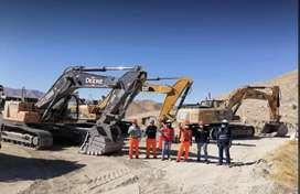 Se alquila todo tipo de maquinaria pesada: Retroexcavadora, Excavadoras...