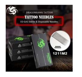 Agujas Para Tatuar 1211M2 Esterilizadas 50und