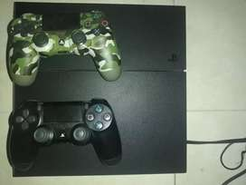Ps4 fat +2 controles y 3 juegos