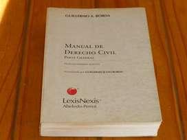 Derecho Civil Manual Parte General De Borda Vendo Libro