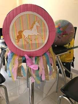 Piñata unicornio, fiesta unicornio
