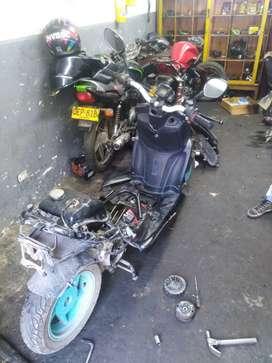 Se solicitan auxilia de mecánica para motos