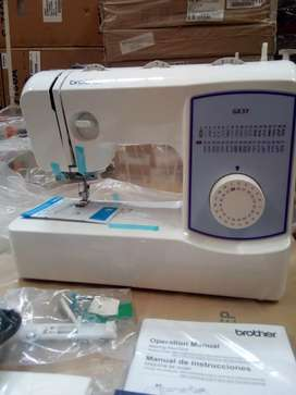 Maquina de coser BROTHER GX 37 ojal en un paso