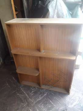 Mueble madera doble fax