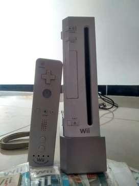 Nintendo wii con todos los accesorios